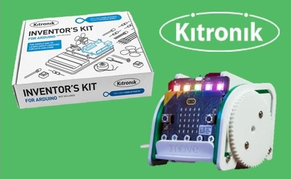 Farnell has now added Kitronik products and accessories for micro:bit, Arduino and Raspberry Pi.