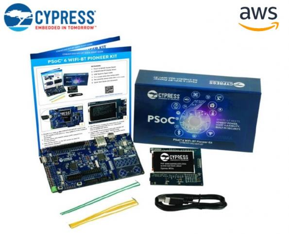 """element14 has partnered with Cypress Semiconductor and Amazon Web Services to launch the """"Connected Cloud"""" design challenge."""