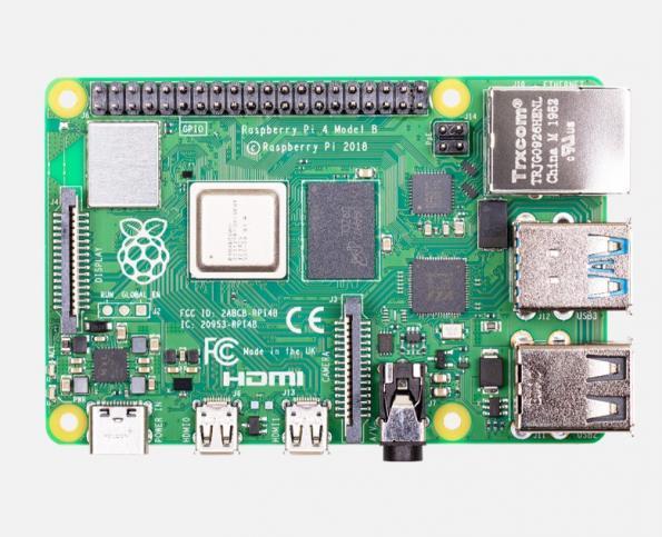 Raspberry Pi Model B computer features 8 GByte RAM