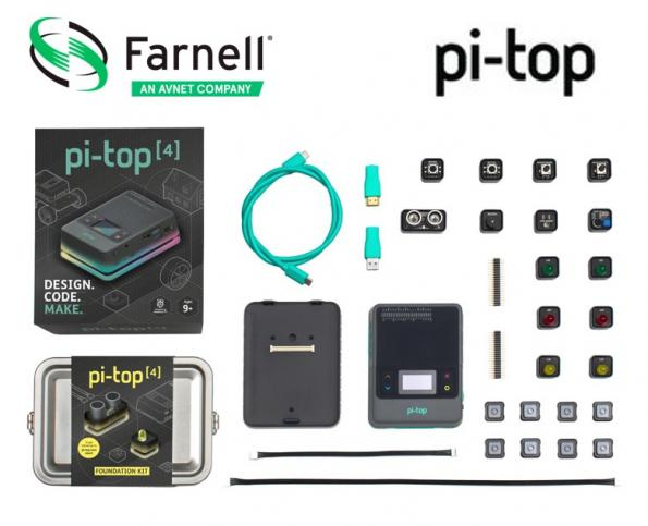Farnell is now stocking the new pi-top [4] - a new programmable computing solution that is intended to help teach coding and form the basis of practical projects.
