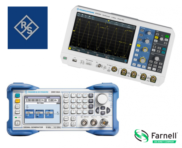 Farnell and supplier partner Rohde & Schwarz will host a series of webinars on set-up, design and applications for webinars.