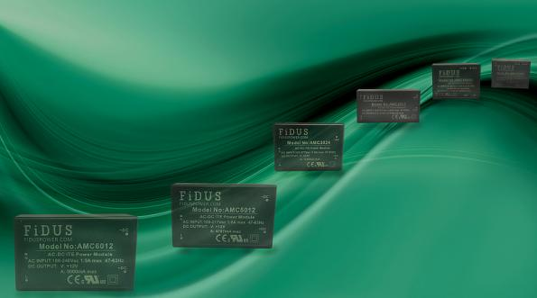 Encapsulated AC-DC power supply series for PCB mounting