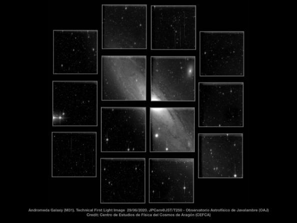 Teledyne CCD image sensors make 1.2Gpixel telescope
