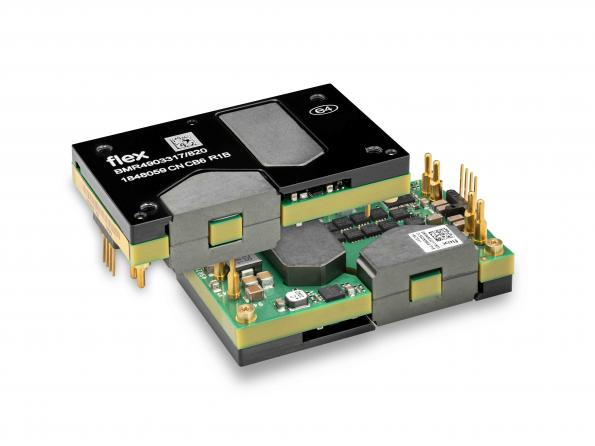 Flex Power Modules has added active current sharing to its BMR490 DC-DC converter.