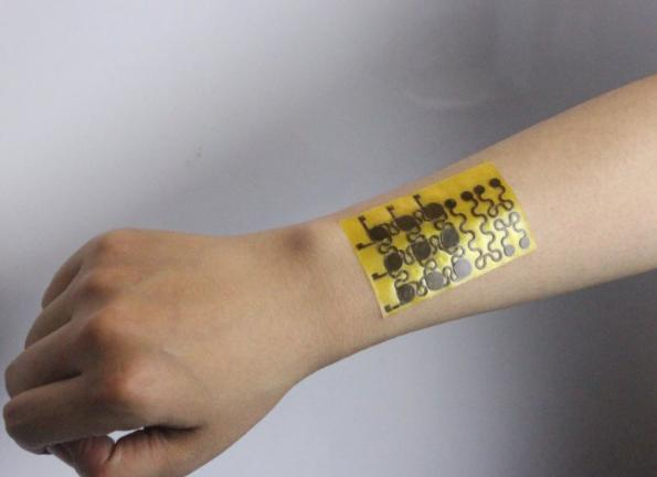 Electronic skin can be healed, is full recyclable