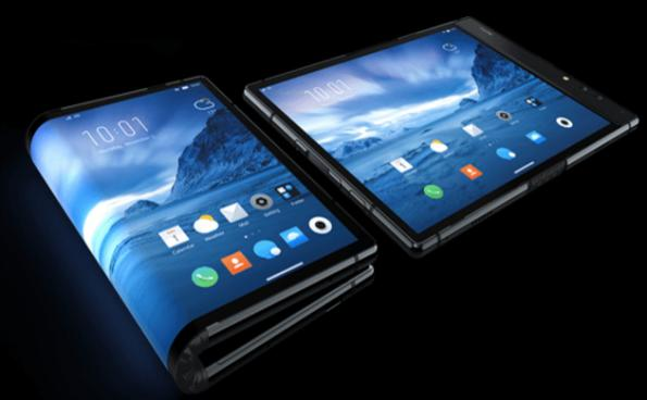 Apple and Samsung beaten to foldable smartphone