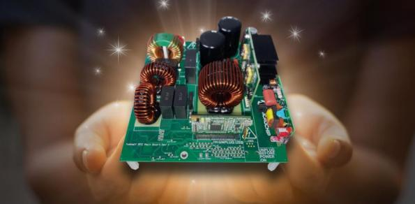 GaNdalf PFC reference design board hits 99 percent efficiency