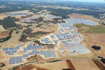 A PSECC solar farm being developed in Ghana
