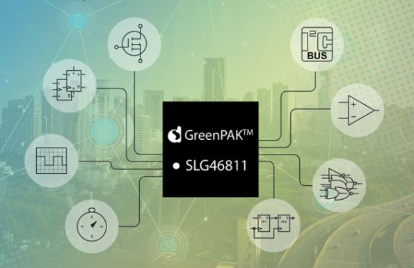 GreenPak comparator comes with I2C interface