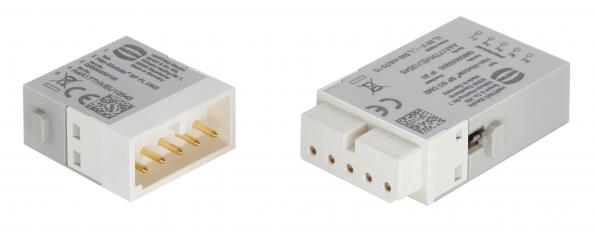 Surge protection is integrated into modular connector