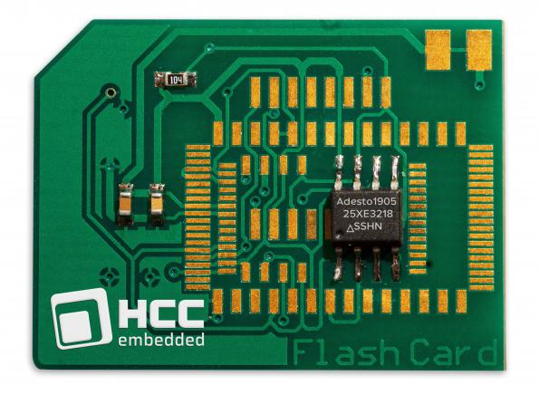 HCC Embedded (HCC) has worked with Adesto Technologies to support the new Adesto FusionHD serial flash technology.