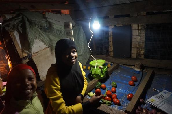HiLyte is testing out a low cost green battery in Tanzania that uses a coffee filter and fertiliser to generate power in rural areas