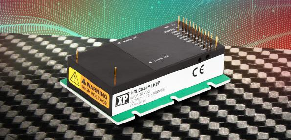 XP Power has launched a 30WDC-DC converter that can generate up to 6kV output from a single 24V input.