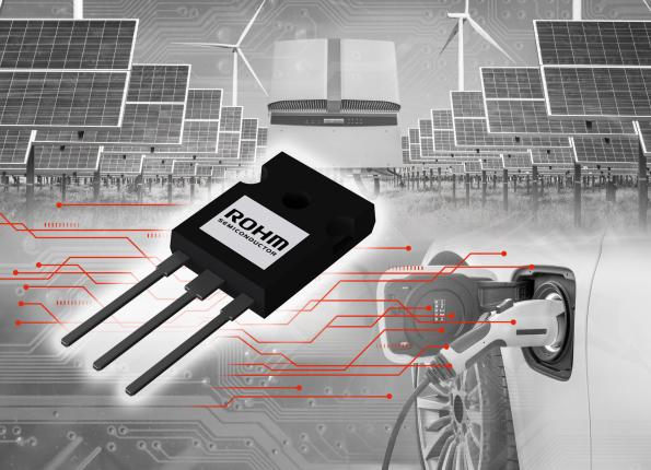 Rohm adds SiC diode to hybrid IGBT