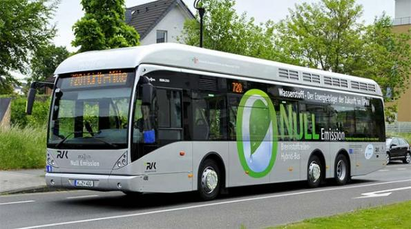 1MW fuel cell will generate 400kg of hydrogen a day for German busses