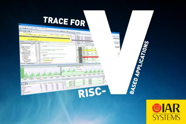 IAR Systems has updated the company's IAR Embedded Workbench for RISC-V development toolchain to support trace as implemented by SiFive Insight.