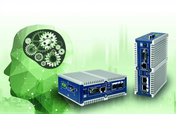 ICP Germany's compact ITG-100AI embedded PC features an inference system that is ready for use with dedicated neural network topologies (DNN).