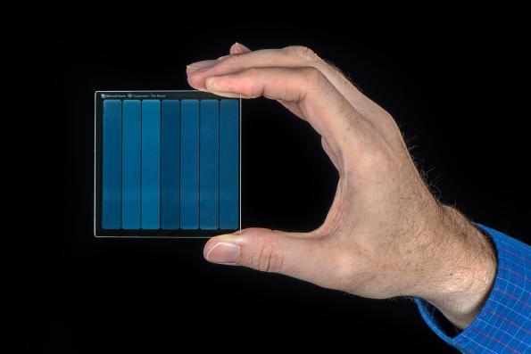 Les lasers femtosecondes permettent le stockage de données dans le quartz