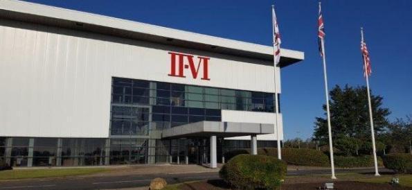 II-VI accroît sa production de semiconcteurs hybrides dans une usine britannique