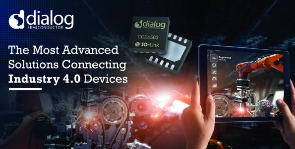 Dialog Semiconductor has announced the latest member of its IO-Link product family to connect small and price-sensitive IO-Link sensors and actuators.