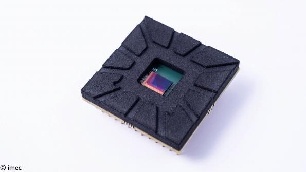 Imec has announced a thin-film monolithic image sensor that captures light in the near-infrared (NIR) and short-wavelength infrared (SWIR).