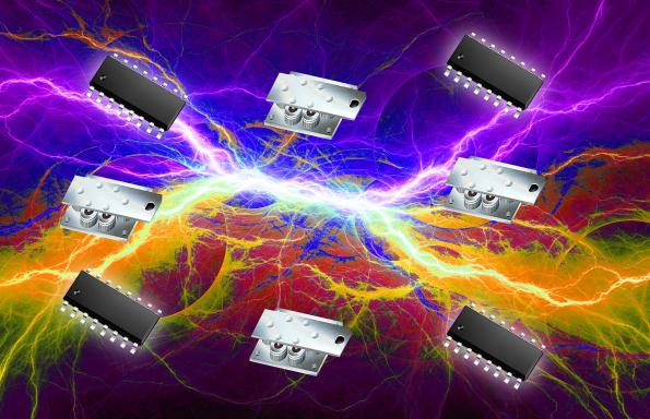 TVS surge protection diodes in distribution