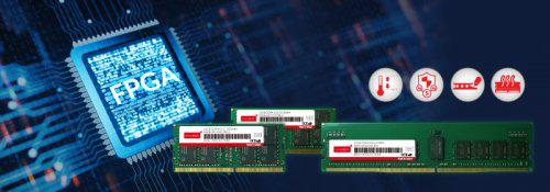 Industrial-Grade DRAM modules for FPGAs