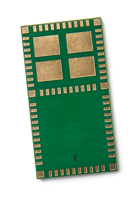 Combined Bluetooth Low Energy and LoRa module in a tiny package