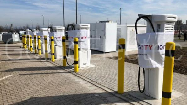German fast charger company Ionity is to roll out eight 350kW fast chargers for electric vehicles across the UK.