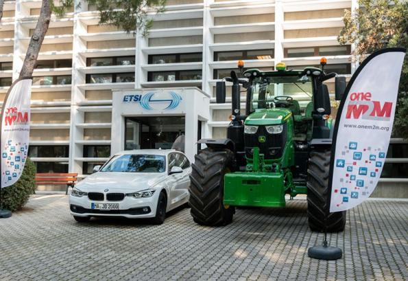 World's first connected tractor demonstrated by ETSI