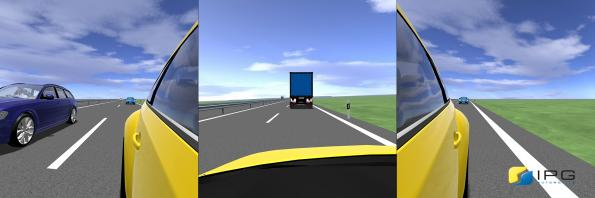 Virtual test driving software comes with improved visualisation