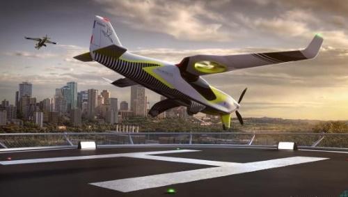 Un avion hybride à décollage vertical pour les JO 2024 de Paris
