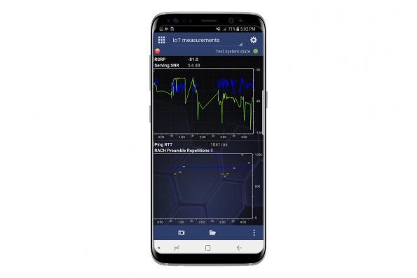 Handheld field measurement tools suit IoT network test