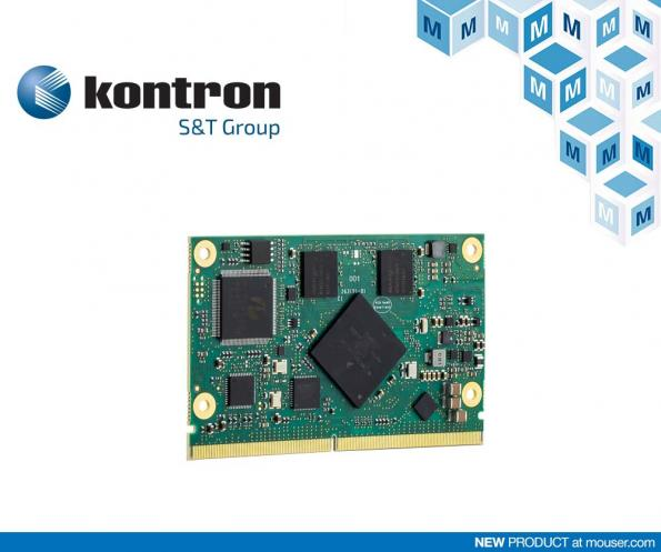 Mouser has signed a global distribution agreement with Kontron that will see the company provide a range of Kontron computer-on-modules (COMs).