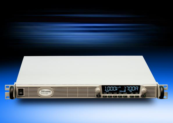 TDK has added an EtherCAT networking option to its Genesys+ 1U programmable DC power supply series
