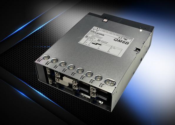TDK Lambda's QM8B 2kW AC-DC converter has 18 outputs with digital PMbus control