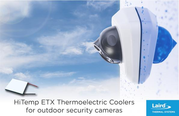 Laird Thermal Systems has launched its new HiTemp ETX Series, which can be used in applications that have temperatures up to 150°C