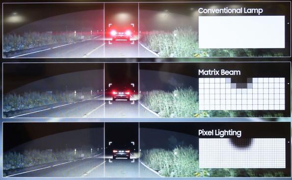 Samsung integrates wafer-level microreflectors into multi-pixel LEDs