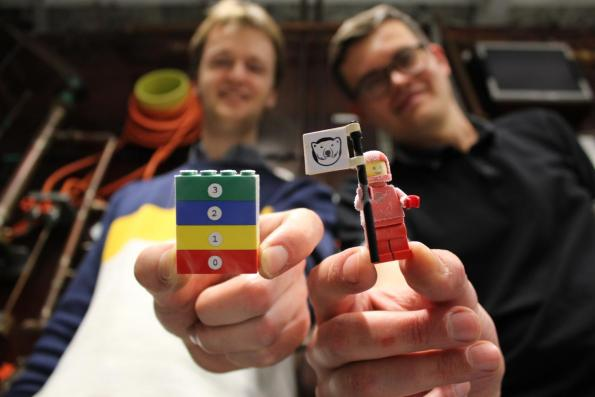 The LEGO blocks survive temperatures as low as 1.6mK, opening up low cost insulation for quantum computing