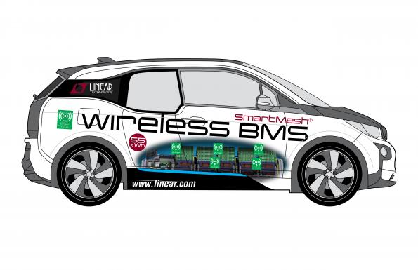 First wireless battery management system for cars uses mesh technology