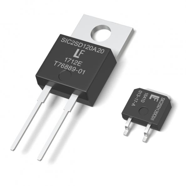 Expanded SiC Schottky Diode line reduces switching losses