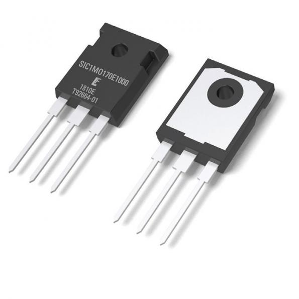1700V, 1 Ohm SiC MOSFET forelectric and hybrid vehicles, datacentres and auxiliary power supplies