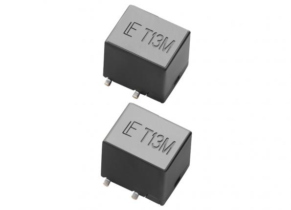 The Littelfuse TSM250-130 reduces PCB space with two telecom PPTC resettable fuses in a smaller surface-mount footprint
