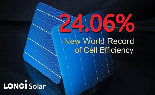 Bifacial silicon solar cell tops record 24 per cent efficiency