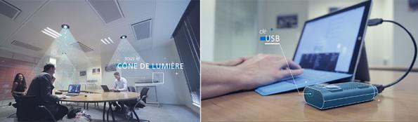 Le LiFi devient bi-directionnel et haut débit