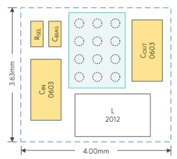 Buck-boost converter has 96 percent efficiency and 6µA quiescent current