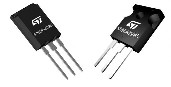 MDMesh DK5 STMicroelectronics MOSFET fast recovery diode