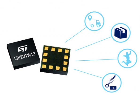 Tri-axis MEMS accelerometer includes precision thermometer