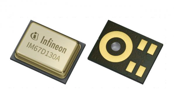 MEMS microphone qualified for automotive