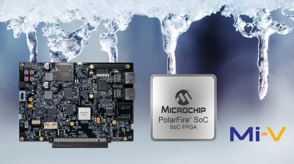 Microchip has introduced the industry's first RISC-V based SoC Field-FPGA development kit for the PolarFire SoC FPGA.